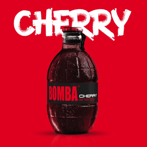 bomba cherry energy drink