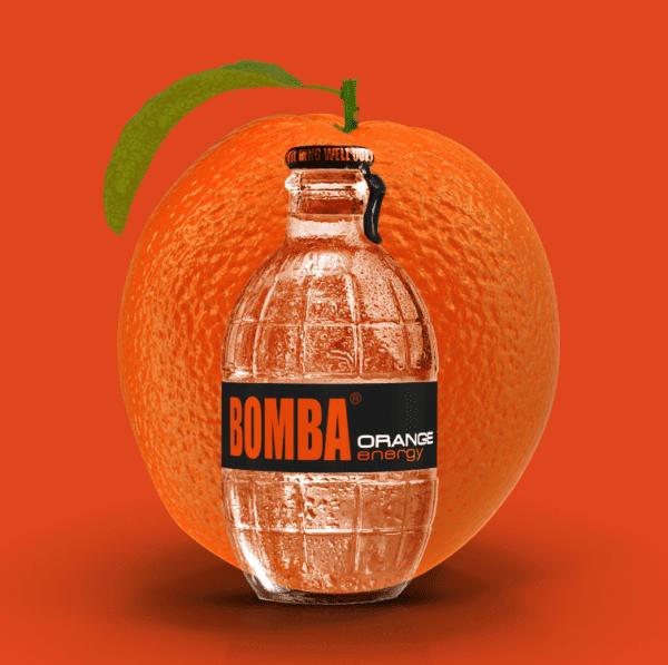 bomba orange energy drink