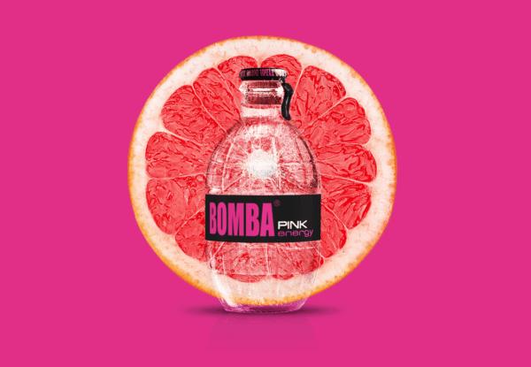 bomba pink energy drink