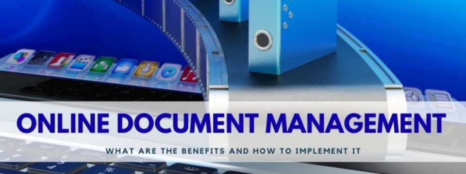 online document management system how to implement